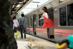 Απίστευτο: Δείτε τη Γιαπωνέζα που πετάει...! (photos)