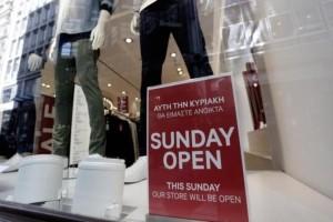 Το σχέδιο της κυβέρνησης για ανοιχτά καταστήματα τις Κυριακές – Τι ισχύει σήμερα;