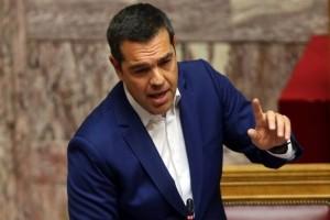 """Αλέξης Τσίπρας: """"Ένας χρόνος ολοκληρώνεται χωρίς μνημόνια! Φτάσαμε στον προορισμό μας!"""""""