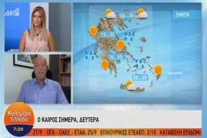 Τάσος Αρνιακός: Υψηλές θερμοκρασίες για την εποχή! (Video)
