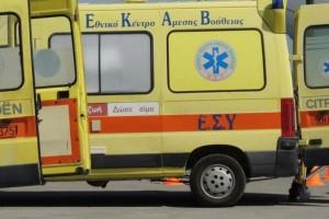 Τρίκαλα: Στο νοσοκομείο μία γυναίκα μετά από τροχαίο με αγριογούρουνα!