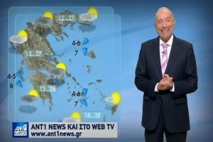 Απότομη αλλαγή του καιρού την Πέμπτη! Βροχή και καταιγίδες σε όλη την χώρα! (Video)