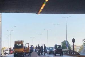 Tραγωδία στη Θεσσαλονίκη: Ανατριχιάζει ο μοτοσικλετιστής: «Είδα να «βρέχει» άνθρωπο»! (Video)