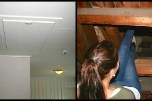 Ο ιδιοκτήτης τους είπε πως υπάρχει κρυφό δωμάτιο μέσα στο σπίτι! Όταν το βρήκαν και είδαν τι έχει έμειναν άφωνοι! (photos)