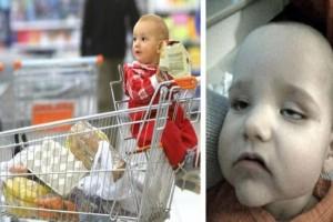 Μαμά έβαλε τον γιο της στο καλάθι του σούπερ μάρκετ και άρχισε να ψωνίζει! Αμέσως μετά ξεκίνησε το μαρτύριο της!