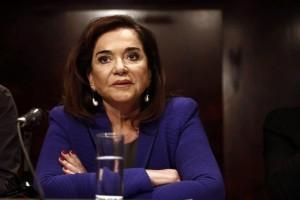 """Ντόρα Μπακογιάννη: """"Η χώρα χρειάζεται κυβερνησιμότητα αλλά και πιο αναλογικό σύστημα!"""""""