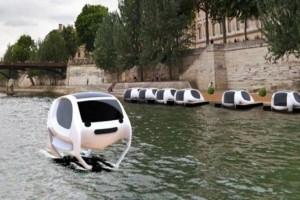 Πραγματοποιήθηκε η πρώτη δοκιμή για τα ιπτάμενα ταξί στον Σηκουάνα! (Video)