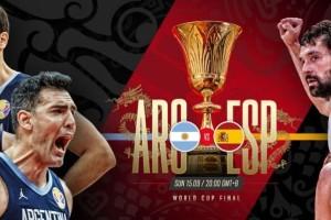 Μουντομπάσκετ 2019: Δείτε τώρα LIVE τον τελικό μεταξύ Ισπανίας και Αργεντινής!