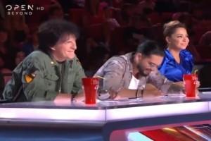 "X-Factor: ""Κάψαμε τζάμπα ρεύμα"" η επική ατάκα του Τσαουσόπουλου σε διαγωνιζόμενο! (Video)"