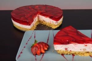 Γλυκό ψυγείου φράουλας χωρίς προσθήκη ζάχαρης! (Βίντεο)