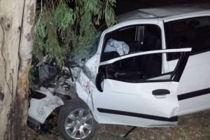 Τραγωδία στο Λεωνίδιο: Νεκρός 29χρονος! «Καρφώθηκε» με το αυτοκίνητό του σε δέντρο!