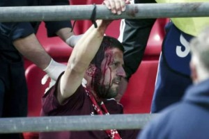 Ολυμπιακός-Μπάγερν: Σκληρές εικόνες από τα επεισόδια σε αγώνα Νέων στου Ρέντη!