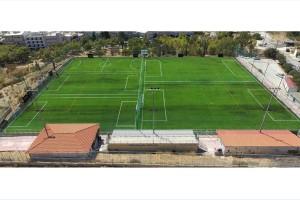 To 4ο Αθλητικό Κέντρο Ηλιούπολης ένα από τα πιο σύγχρονα ιδιόκτητα γήπεδα ποδοσφαίρου