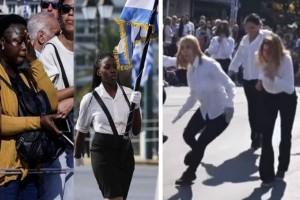 Γιατί η παιδεία και ο σεβασμός δεν έχουν εθνικότητα ηλίθιε Έλληνα γονέα!
