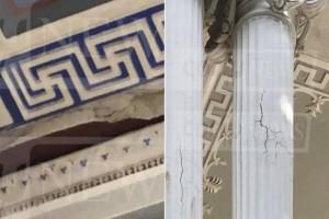 """Τραγικές εικόνες: """"Γκρεμίζεται"""" το ανάκτορο της Σίσσυς στο Αχίλλειο της Κέρκυρας! (photos)"""