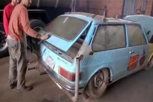 Απίστευτο: Δείτε σε τι μετέτρεψε αυτό το αυτοκίνητο! (Video)