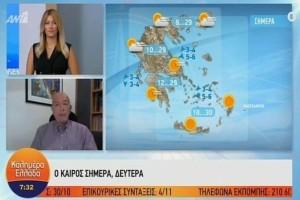 Η προειδοποίηση του Τάσου Αρνιακού για το 3ημερο της 28ης Οκτωβρίου! Τι καιρό να περιμένουμε; (Video)