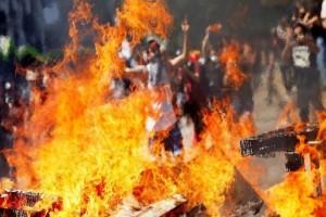 Χιλή: Νεκρό 4χρονο αγόρακι στα βίαια επεισόδια!