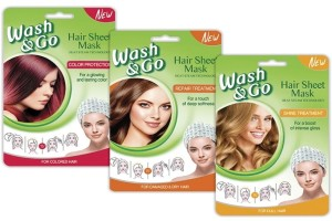 Beauty review: Όλα όσα λάτρεψα στις νέες hair sheet masks του Wash & Go!
