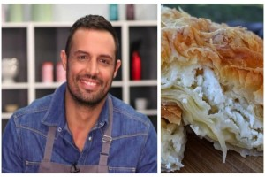Η πεντανόστιμη τυρόπιτα που φτιάχνει ο Σάββας Πούμπουρας και έχει τρελάνει το instagram!