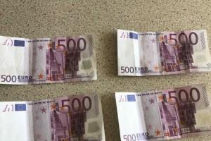 Κιλκίς: Πήγαν για ψώνια με.. πλαστά χαρτονομίσματα των 500 ευρώ!