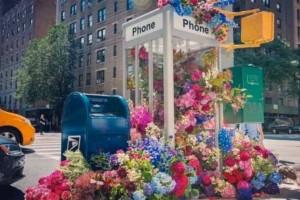 Γιατί γέμισαν λουλούδια οι δρόμοι της Νέας Υόρκης;