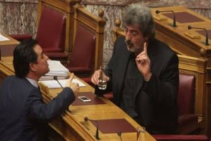 «Γης μαδιάμ» στη Βουλή!  Άγρια κόντρα Πολάκη-Γεωργιάδη: «Όταν με βλέπεις, τρέμεις» - «Πρόσεξε, υπάρχει και τρίτος γύρος!» (Video)