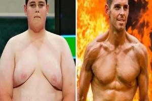 Αγνώριστος: Η απίστευτη μεταμόρφωση ενός πυροσβέστη που κάποτε ζύγιζε 154 κιλά! (photo)