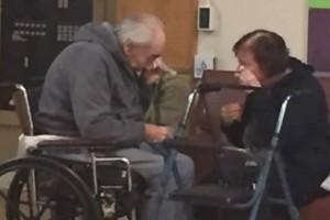 Εμείς δεν θα χωρίσουμε ποτέ! Το ηλικιωμένο ζευγάρι που συγκίνησε με τα δάκρυα του! (Video)