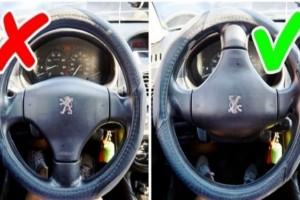 12 χρήσιμα κόλπα για το αυτοκίνητο που γνωρίζουν μόνο οι έμπειροι οδηγοί!