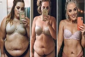 Σοκαριστική αλλαγή: Έχασε 68 κιλά και έγινε αγνώριστη! (video)