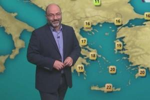 Σάκης Αρναούτογλου: Σε κλοιό κακοκαιρίας όλη η χώρα (Video)!