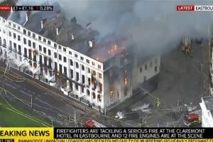 Βρετανία: Μεγάλη πυρκαγιά σε ξενοδοχείο!