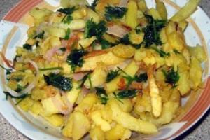 Φτιάξτε παραδοσιακές ποντιακές τηγανητές πατάτες!