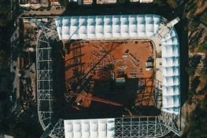 Με αμείωτο ρυθμό συνεχίζονται οι εργασίες στο γήπεδο της ΑΕΚ! (Video)