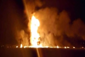 Φωτιά σε αγωγό πετρελαίου: Έξι νεκροί και 15 τραυματίες!