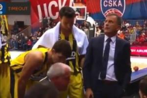 """Ομπράντοβιτς: Χαμός σε time out! """"Άντε γαμ...τε όλοι σας"""""""
