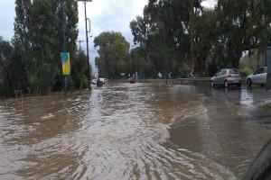 """Πλημμύρισε όλη η Κρήτη από την κακοκαιρία """"Βικτώρια""""!"""