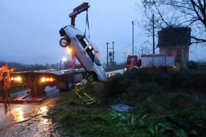 Καβάλα: Νεκρός άντρας που έπεσε με το αυτοκίνητο του σε ρέμα!