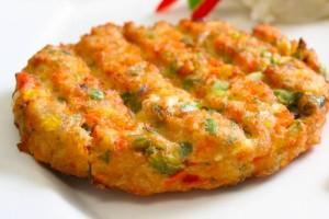 Μπιφτέκια λαχανικών χωρίς λάδι!