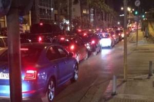 Μεγάλο μποτιλιάρισμα στους δρόμους της Αθήνας: Που παρουσιάζονται προβλήματα; (photo)