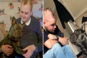 Δεν άντεξε το σκυλάκι: Πέθανε 15 λεπτά μετά τον θάνατο του ιδιοκτήτη του!