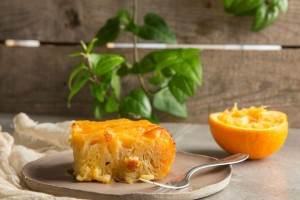 Πεντανόστιμη πορτοκαλόπιτα με τζίντζερ!