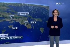 Έντονες βροχές και καταιγίδες σε όλη τη χώρα! Η Χριστίνα Σούζη προειδοποιεί (Video)!