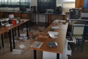 Καταληψίες βανδάλισαν λύκειο στην Θεσσαλονίκη! (Video)