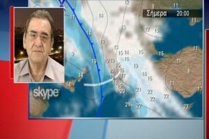 Θοδωρής Κολυδάς: Βροχές και καταιγίδες τις επόμενες ώρες σε όλη τη χώρα! (Video)