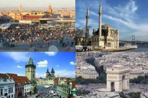 Οι πιο τουριστικοί προορισμοί και οι αλλαγές τους μέσα στα χρόνια!