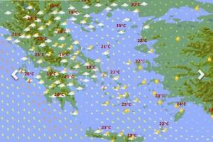 Καιρός: Έρχονται σφοδρές καταιγίδες τις επόμενες ώρες! Αυτές οι περιοχές θα υποφέρουν