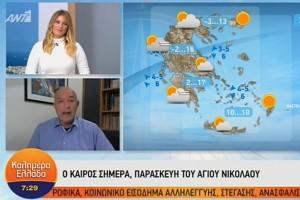 Αλλάζει το σκηνικό του καιρού - Κόβεται στα δύο η χώρα: Ο Τάσος Αρνιακός προειδοποιεί (Video)!