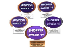 Shopper Marketing Retailer of the Year η Διαμαντής Μασούτης Α.Ε. στα Shopper Marketing Awards 2019